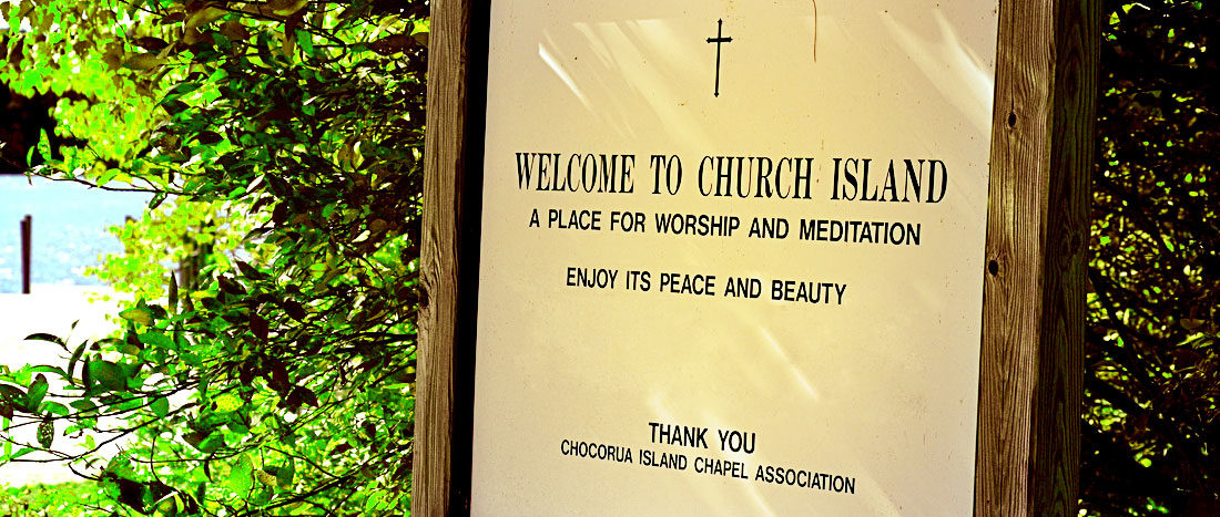 Chocorua Island Chapel Association, Squam Lake, NH 118th year    PO Box 356 Holderness, NH 03245 - Phone: 603-968-7931